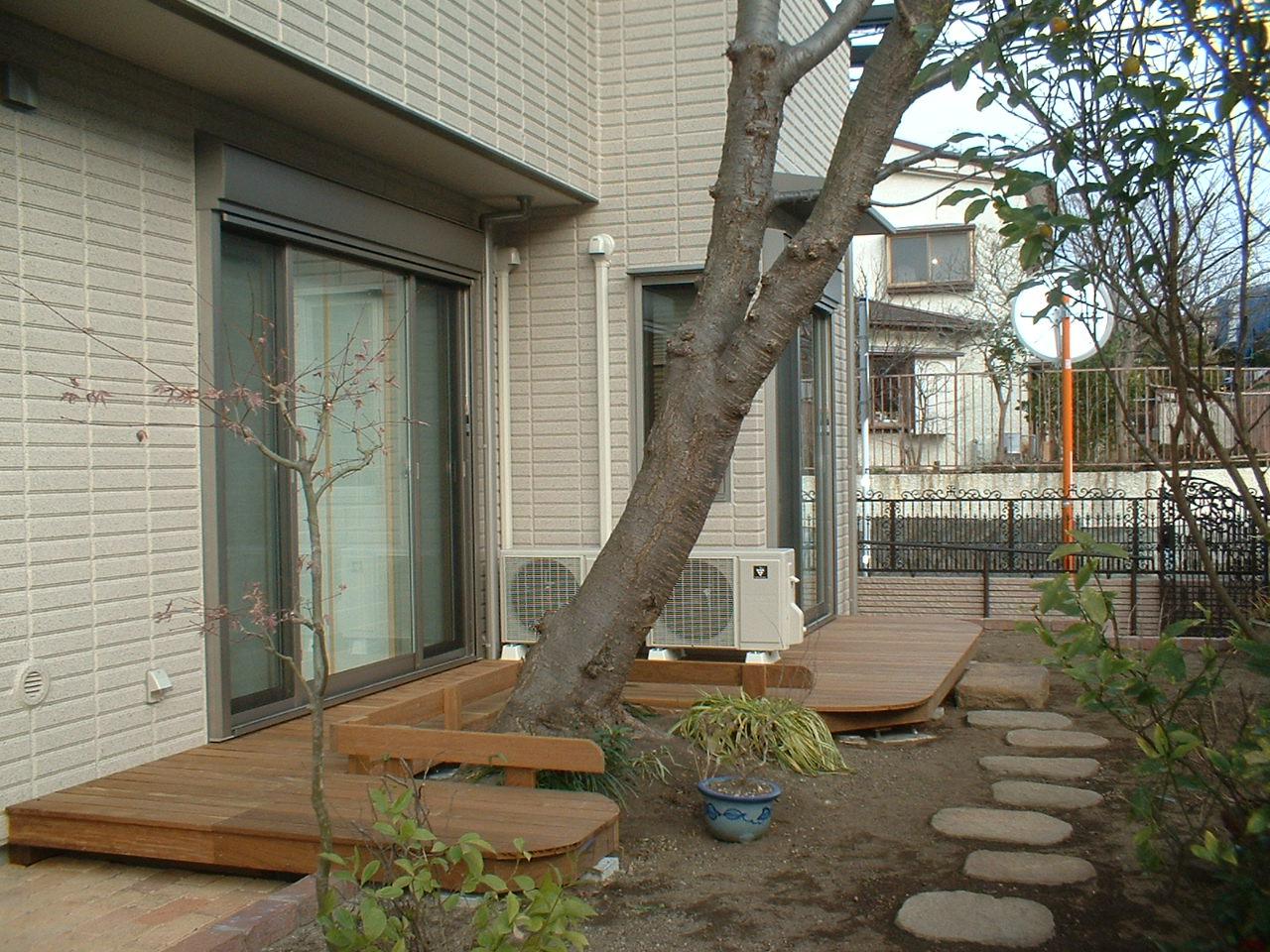 ウッドデッキ 横浜市S邸